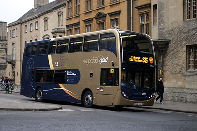 Stagecoach 15753-OU61 AVG at Oxford City Centre.