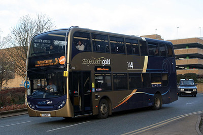 Stagecoach 15741-KX61 DKY at Peterborough City Centre.
