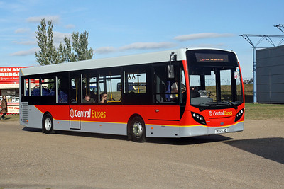 Central Buses BU12 LJO at Showbus 2012