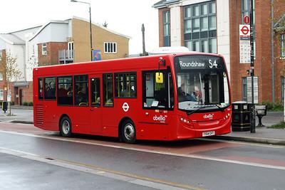 Abellio 8203-YY64 GVT at Sutton Town Centre.