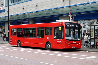 Abellio 8831-YY64 YJN at Croydon Town Centre.