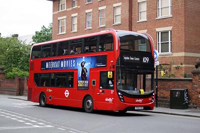 Abellio 2510-YY64 TZK at Croydon Town Centre.
