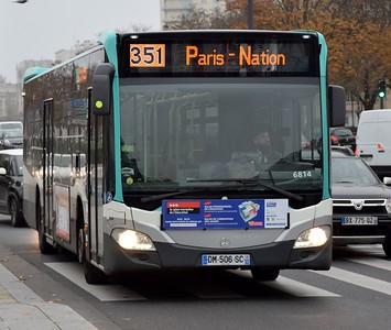 6814 Porte Vincennes 16 November 2018