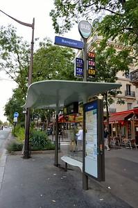 Banquier Bus Stop 13 September 2015