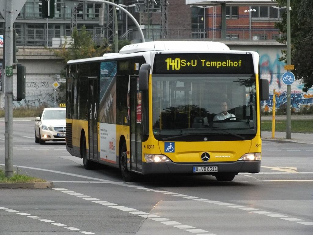Germany: 8311 (BVG) Berlin 16 September 2012