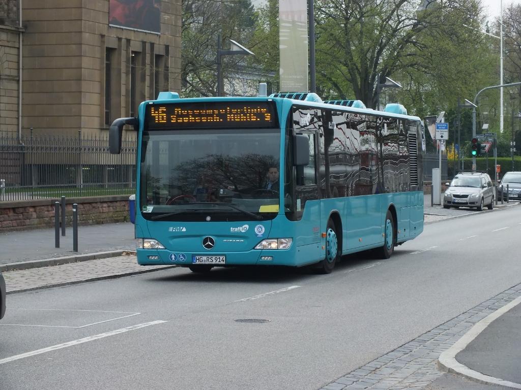 Germany:  914 (RMV) Frankfurt 22 April 2013