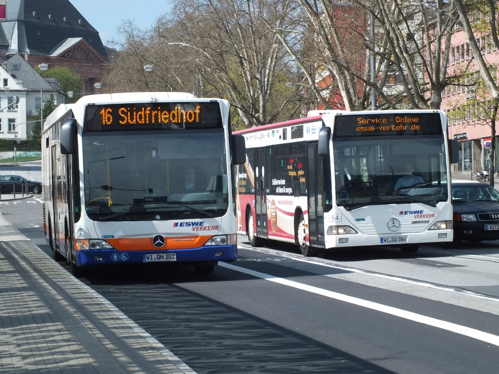 Germany: 2 & 84 (ESWE Verkenr) Wiesbaden 23 April 2013