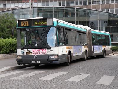 Bus Scene Europe