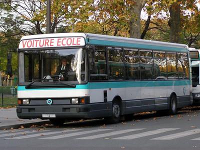 14 Champs de Mars 6 November 2007 Trainer bus