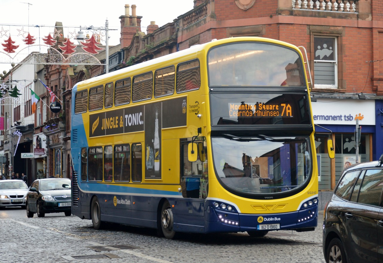 SG242 Upper George's St Dun Laoghaire 3 December 2016