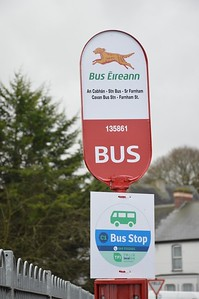 Stop 135861 Cavan Bus Station 2 February 2017