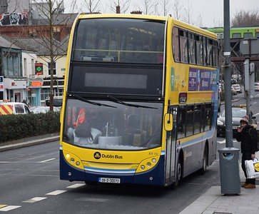EV73 Lower Drumcondra Road 1 February 2021 On the 1, see previous picture for destination!
