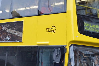 NTA logo on VT11 O'Connell St 24 January 2014