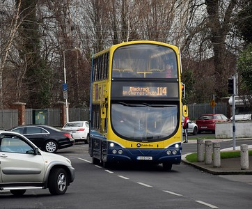 GT88 Newtown Park 19 January 2019 Last day of 114 with Dublin Bus