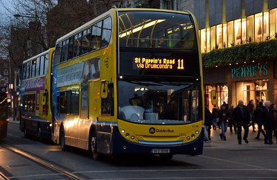 EV98 O'Connell St 25 January 2019 St Pappin's Road now the destination instead of Wadelai Park.