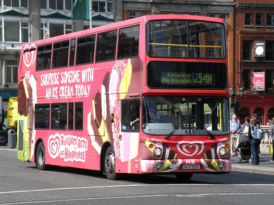 AX397 O'Connell Bridge 23 July 2011