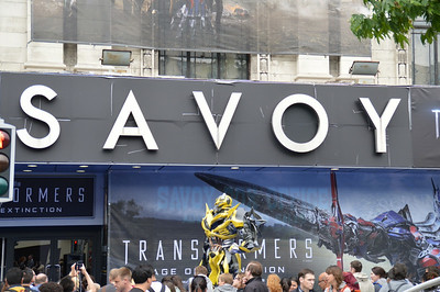 Transformers Première at the Savoy 3 July 2014