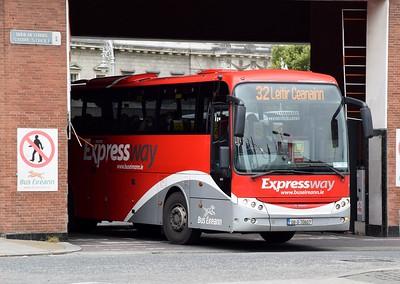 LC5 departs Busáras 4 July 2020