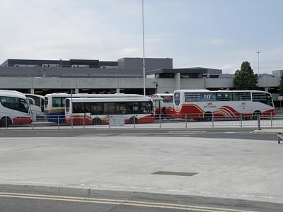 A busy Dublin Airport 4 June 2011
