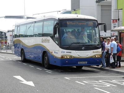 1732 Dublin Airport 4 June 2011 13.45 X2 to Belfast.  Ignore the destination!