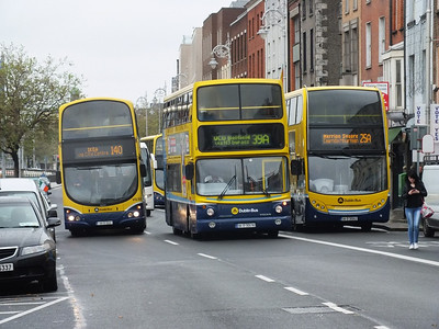 VG33, AX578 & EV62 Ormond Quay 3 June 2012