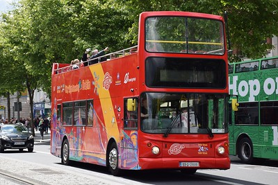 03D121606 O'Connell St 15 June 2019 Welcome back to City Sightseeing, now operated by Extreme Ireland Group.