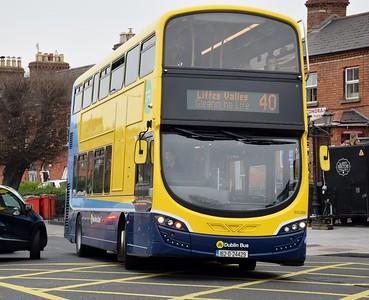 SG266 turns onto Dorset St 2 March 2021