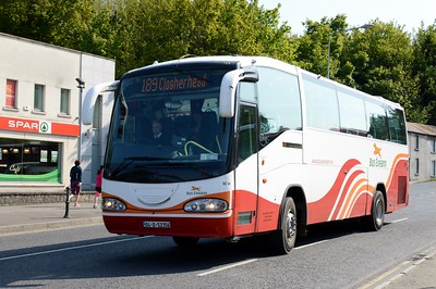 SC44 leaving Drogheda Bus Station 13 May 2016
