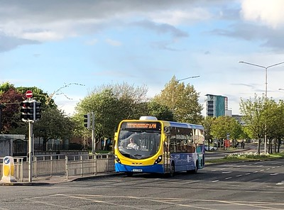 12126 Ballymun Road 1st May 2020 Unusual to see a single decker on the 17A.