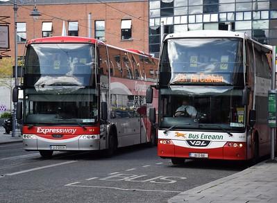 LE2 passes LD313 Busáras 16 May 2021