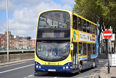 GT41 Wood Quay 16 May 2021 On Sunday the 83 operates to Charlestown rather than Harristown.