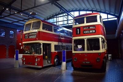2857 & 112 Ulster Folk & Transport Museum 10 November 2018