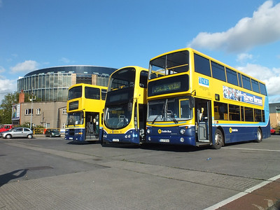 RV584, GT26 & AV358 Conyngham Road Garage 13 October 2012