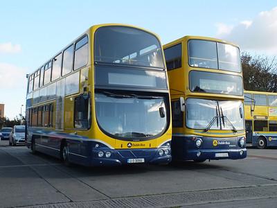 GT26 & AV358 Conyngham Road Garage 13 October 2012