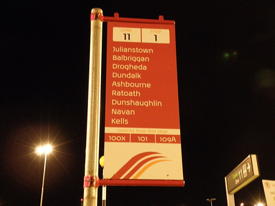 Stop 1 Flag Dublin Airport 23 December 2011