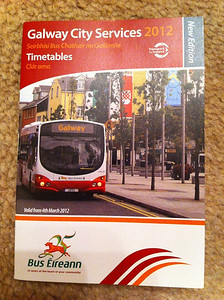 Galway City Timetable 4 March 2012