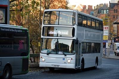 LJ54BCE Piccadilly Station 4 December 2016 EX Arriva London VLA98