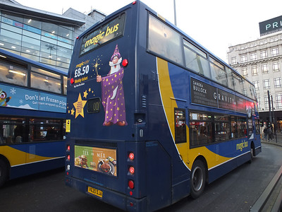 17620 rear. Piccadilly Gardens 9th December 2013