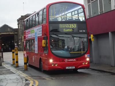 VLW198 Hackney 28 December 2012