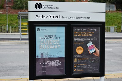 Signage at Astley Street 21 August 2016