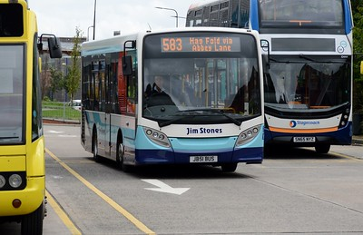 JB51BUS Leigh Bus Station 21 August 2016