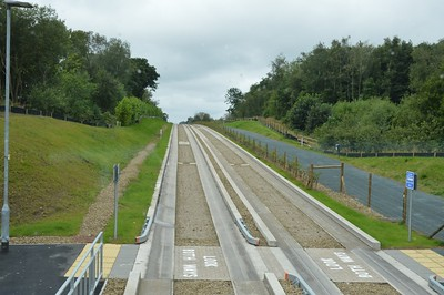 Leigh busway 21 August 2016