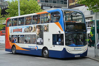 19420 Piccadilly Gardens 22 June 2014 New buses are due for the 111.