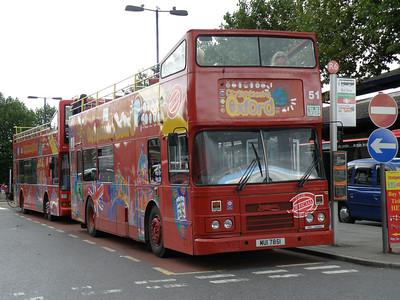 MUI 7851 Oxford Railway Station 8 August 2011 Former Dublin Bus RH13.