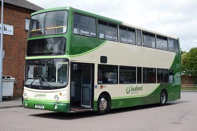 X20SEA Uckfield 5 June 2017  AV20 in the Seaford fleet, former AV11 in the Dublin Bus fleet.