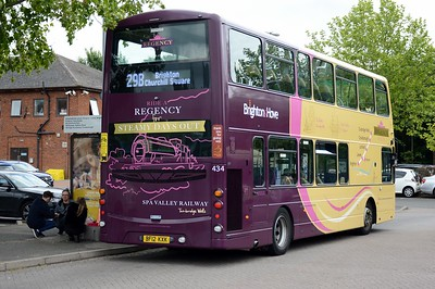 434 Uckfield Bus Station 5 June 2017
