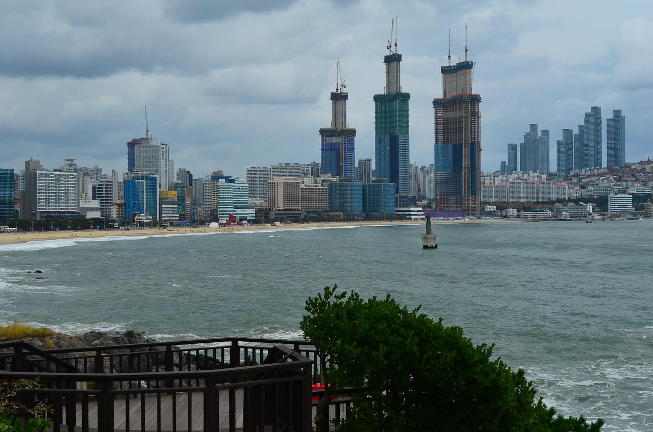 View towards Paradise Hotel