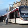 Edinburgh Tram near Waverley