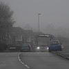Swindon in the fog