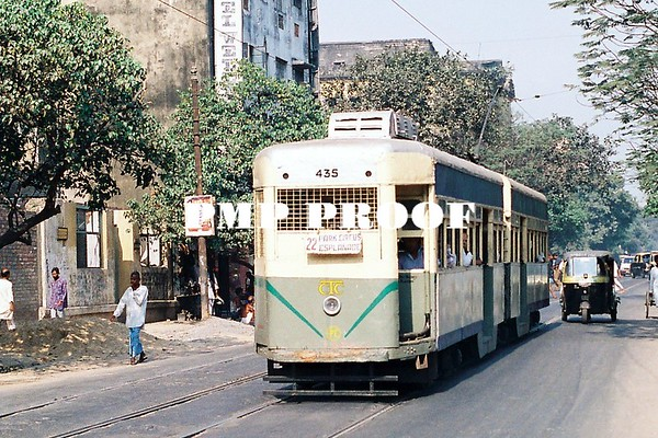 Indian Buses and trams